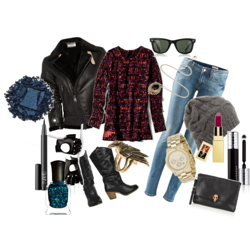 Somewhat #Punk outfit created by me on #polyvore. I find this outfit not totally punk, but is just a little bit punk.