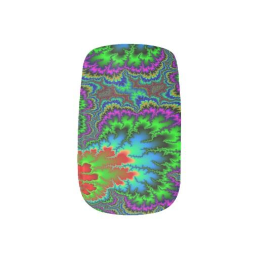 Psychadelic Minx Nails
