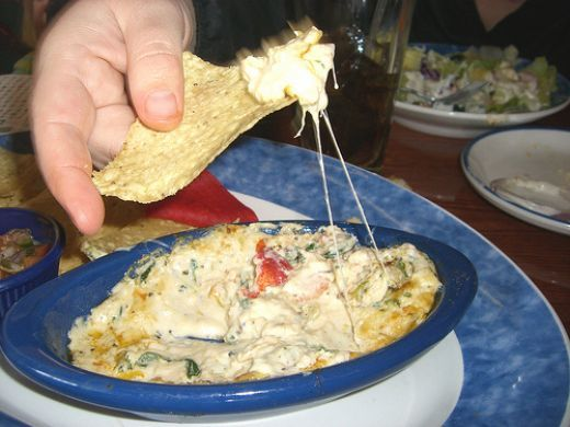 Red Lobster Restaurant Copycat Recipes: Seafood Spinach and Artichoke Dip
