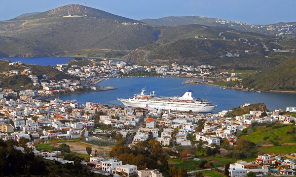 Patmos, Greece. Someday I'll have a winter home here.