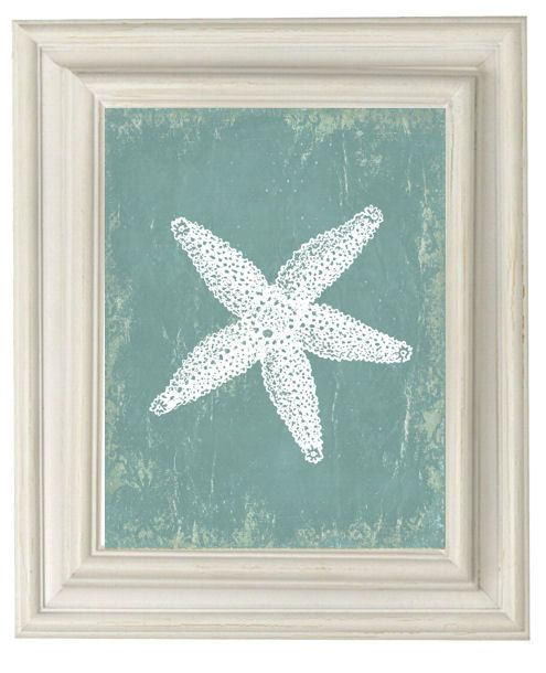 Digital Download No. 302  Starfish Modern Art by OliveRueDesign, $4.00