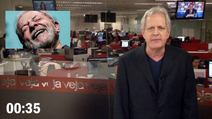 Lula foi para onde os fora da lei não tem vez