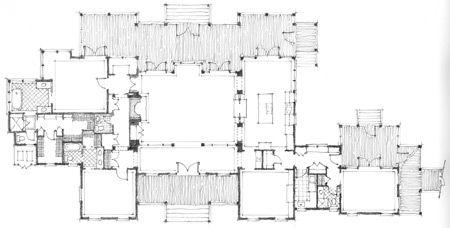 Main House Family Compound Floor Plans Pinterest