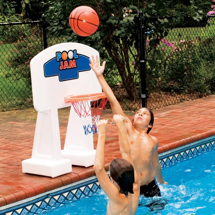 Blue Wave Pool Jam Inground Swimming Pool Basketball Hoop - NT203
