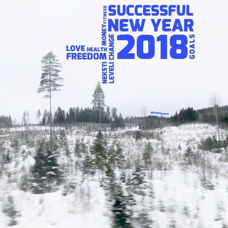 StadinKoutsi.fi toivottaa kaikil kliffaa uutta vuotta 2018! Tuutte hokaamaa et tää vuos starttaa uudel strategial, ku vetäydytään astettain kansainvälisest bisneksestä. Sen sijaan vedetään Suomen pääs kaikki iha nekstille levelille, joten pysykää kärryillä!