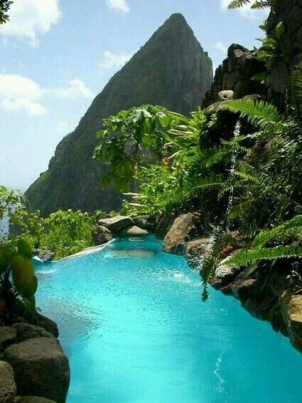 St. Lucia, Carribean. When only the best will do there is https://www.exquisitecoasts.com/  #exquisitecoasts #paradise