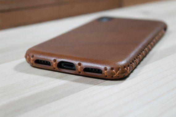 Apple iPhone 7 PLUS Custodia Di Pelle /Cover ufficiale Marrone