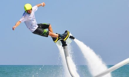 AMR LOCATION à La Rochelle : Sessions de flyboard: Des sessions de flyboard ou hoverboard avec une vidéo en option pour immortaliser cette…