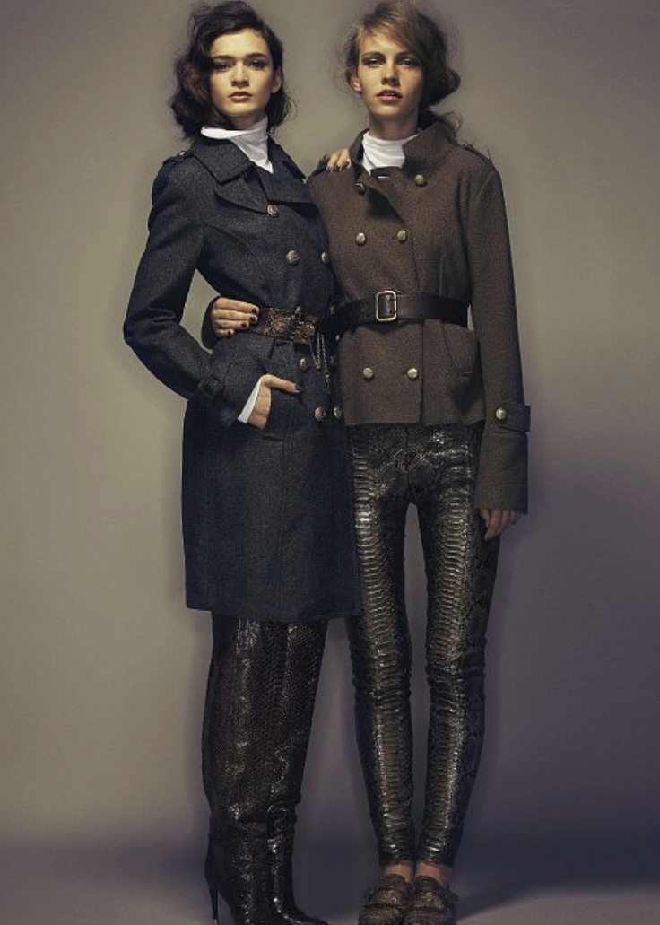 annabelle tsaboukas and charlotte nolting by marco la conte for io donna