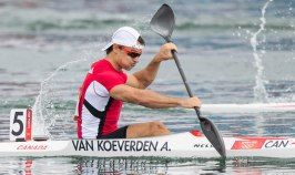 Adam van Koeverden started kayaking in 1995 at the Burloak Canoe Club in Oakville, Ont. at the age of 13. Now he's a four-time Olympic medallist and was one of the most recognizable faces of the Canadian Olympic Team at the 2012 Olympic Games. In London, he captured a silver medal in the K-1 1,000m one year after winning gold in the same event at the World Championships.