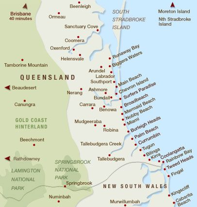 Gold Coast, Queensland, Australia - Explore the World with Travel Nerd Nici, one Country at a Time. http://TravelNerdNici.com