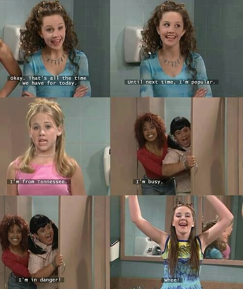 hahaha! bring our 90s tv shows back! they were the greatest. <3
