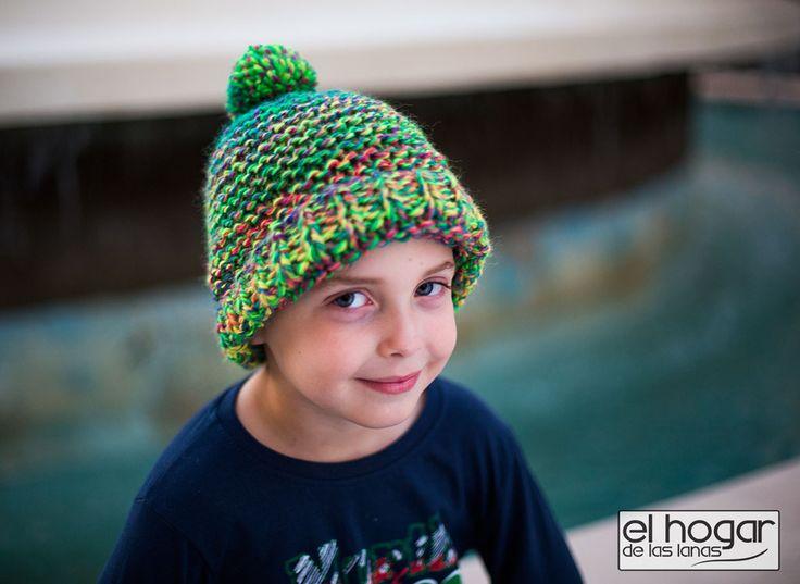 Patrones para tejer gorros de lana | Free patterns to knit hats for kids