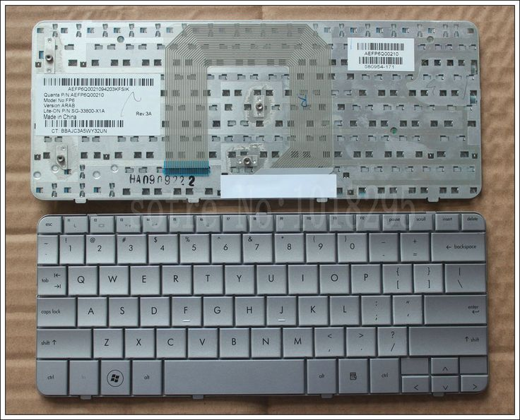 New Laptop keyboard for HP Pavilion DM1-1000 DM1 dm1-1027tu DM1-1005TU Silver Keyboard Notebook Replacement US