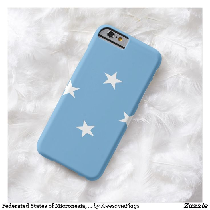 Federated States of Micronesia, flag Barely There iPhone 6 Case