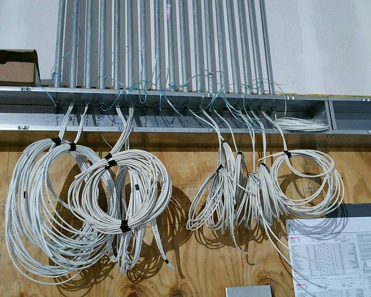 Structured Cabling Rough-In