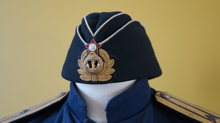 My WW2 soviet submarine Officer overseas field cap.
