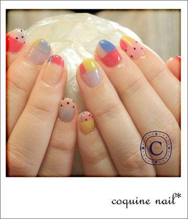 coquine nail* : クリア感をいかそうぜ!ねいる。 | Sumally (サマリー)