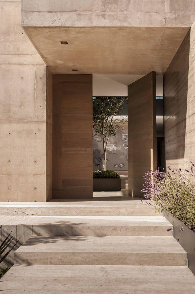 Best 25 puertas principales modernas ideas on pinterest - Puertas de entrada modernas ...