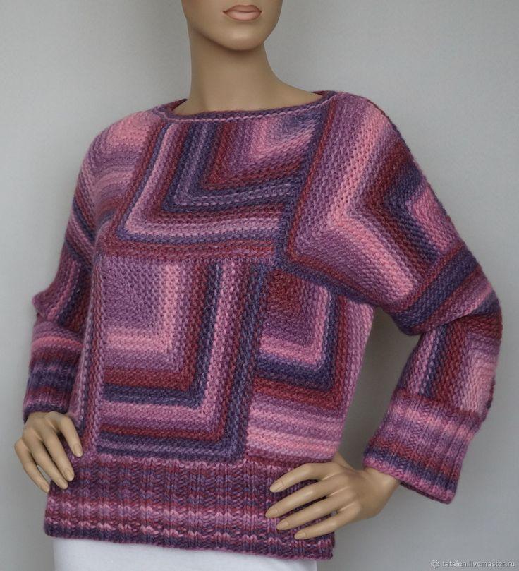 """Пуловер пэчворк """"Colormix 1"""" – купить в интернет-магазине на Ярмарке Мастеров с доставкой"""