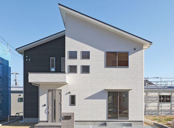 施工ギャラリー |外壁材Fu-ge|ニチハ株式会社