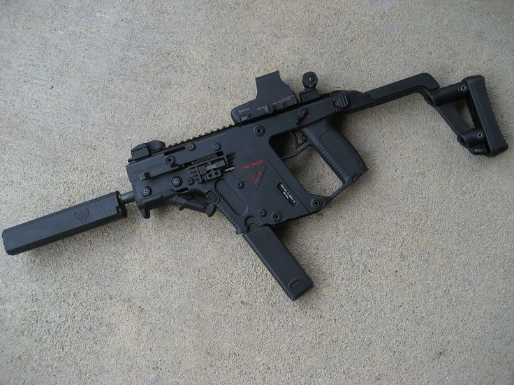 Let's see some pics of your KRISS Vector - Page 5