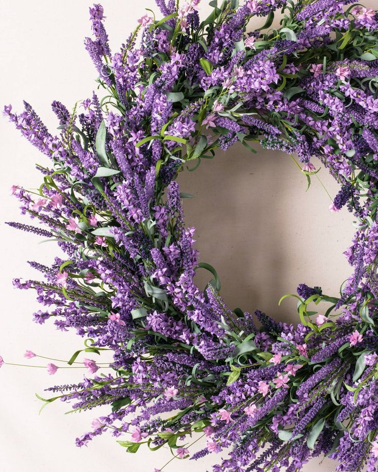 Provencal Lavender Wreath, Garland & Swag | Balsam Hill