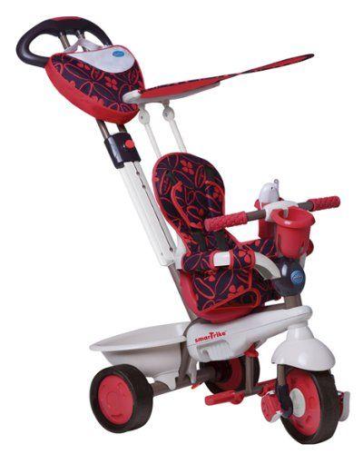 Smart Trike rêve riche tricycle rouge monter sur bébés poussette, enfants | Your #1 Source for Toys and Games