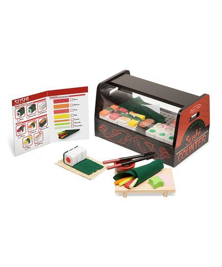Melissa & Doug Roll, Wrap & Slice Sushi Counter   zulily