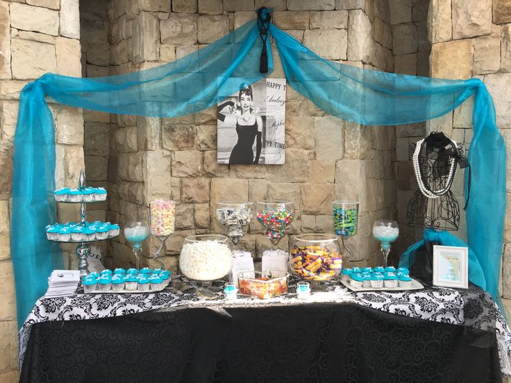 Breakfast at Tiffany's Candy Buffet by Mallows & Moët Décor and Events