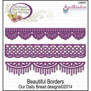 Spellbinders CSBD51 - Beautiful Borders