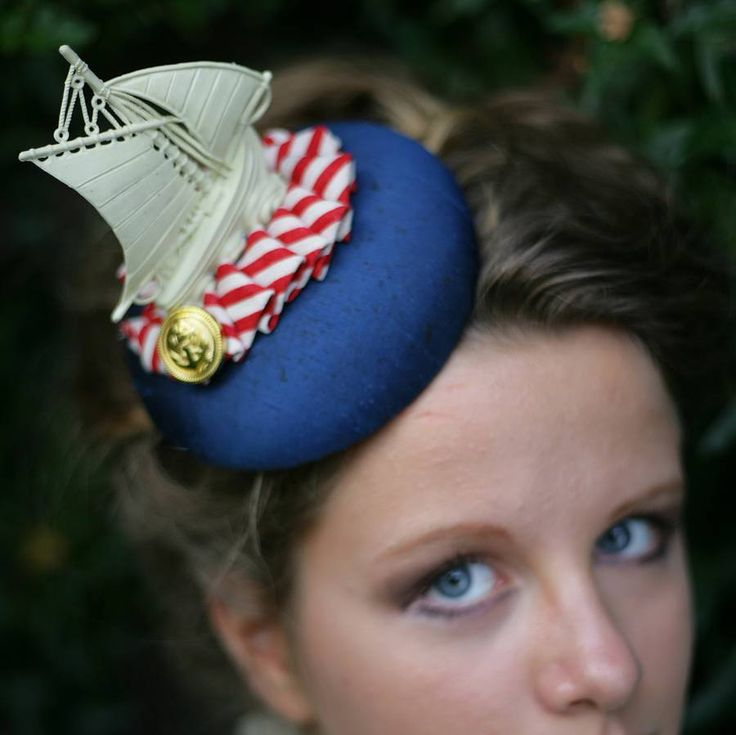 Hello Sailor Nautical Fascinator