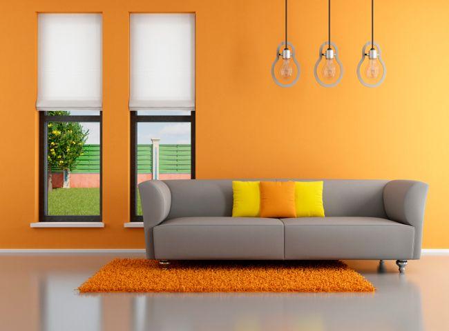 Efecto de los colores en la decoraci n de tu casa sala - Cortinas interiores casa ...