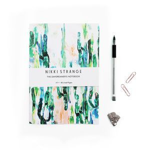 Painterly Cactus A5 Notebook With Lined Pages - on trend: cactus | Cactus Decor | Pinterest | Cacti and Cactus decor