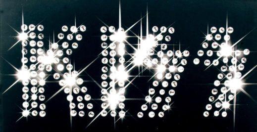 Kiss Logo. Sparkly!