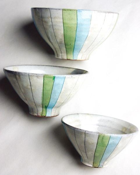 Furari - bowl trio