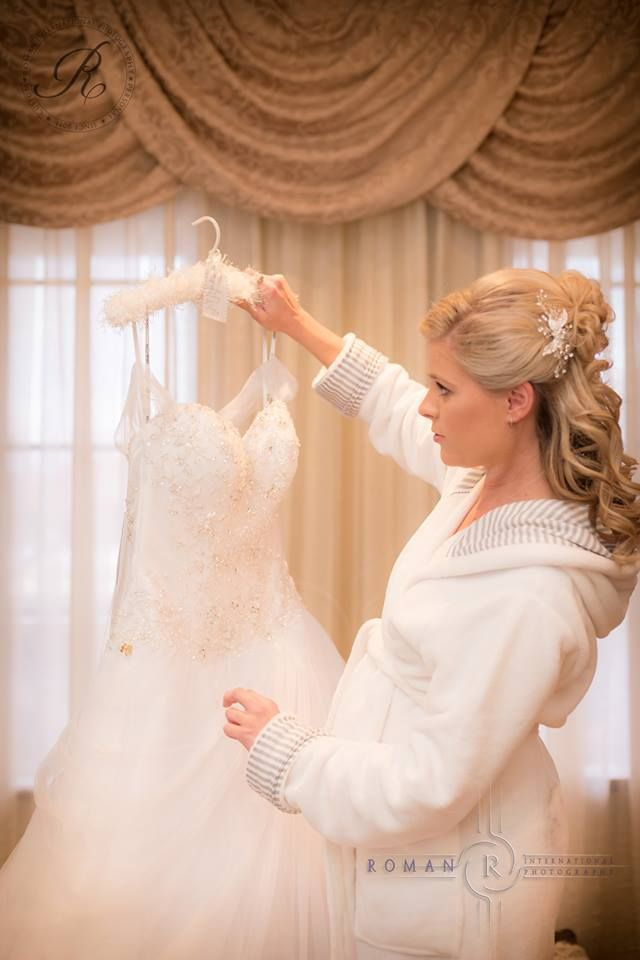 Bridal prep with Darren