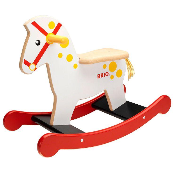 BRIO - Toddler Wooden Rocking Horse