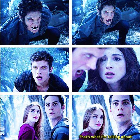 Teen Wolf season 3b - Scott's alpha roar!!