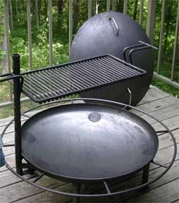 Firepan Outdoor Fire Pit Movable Portable by DeFeliceEngineering, $343.00