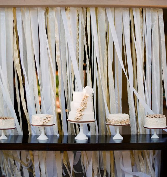Wall Decorations With Ribbon : Best ideas about ribbon wall on