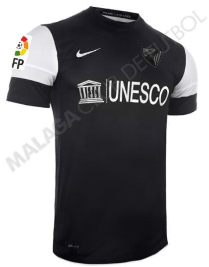 Indumentaria Málaga 2012-13
