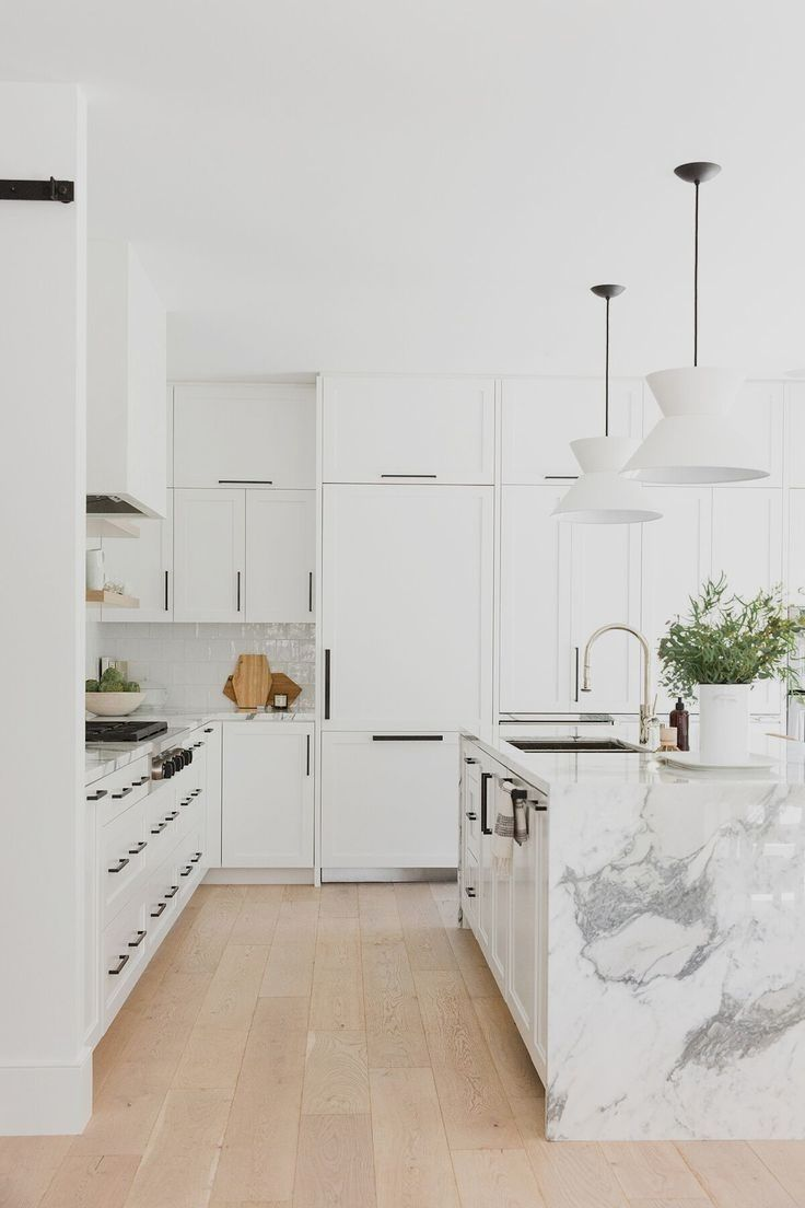 17 Lovely Kitchen Design Suggestions In 2020 Scandinavian Kitchen Design White Modern Kitchen Kitchen Accessories Decor