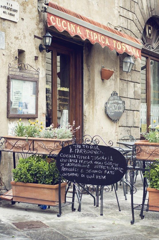 Italian Cafes. There's something so charming about them