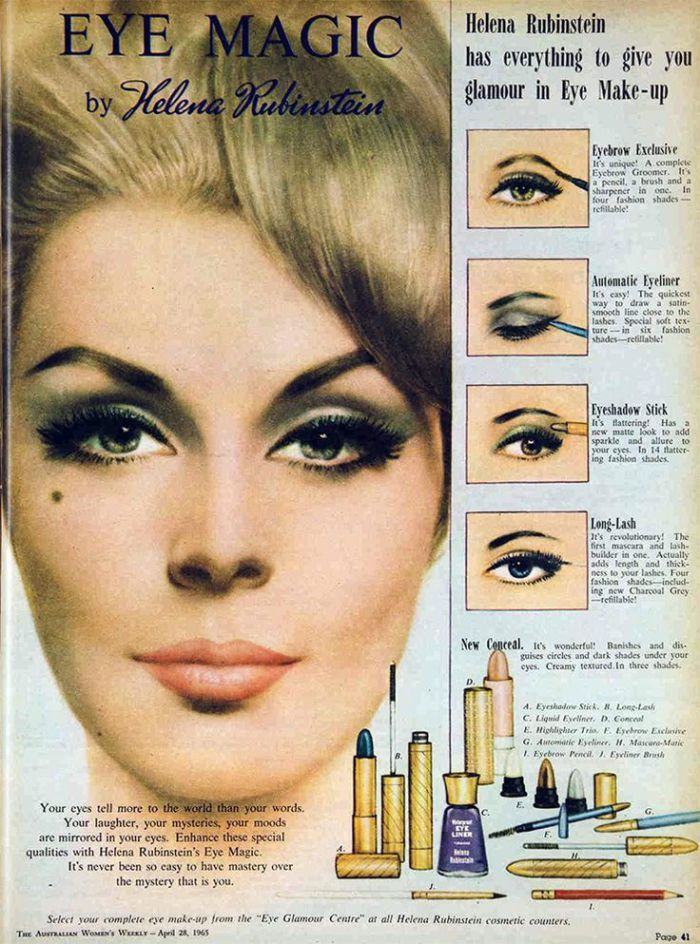 Pin By Chris Milone On 60 S With Images Makeup Ads Retro