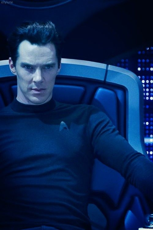 The only way Benedict Cumberbatch could have possibly been sexier was wearing a Starfleet uniform. And he did.