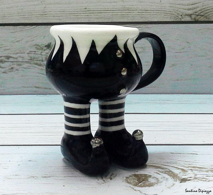 Souvenirs porcelain and italian espresso maker