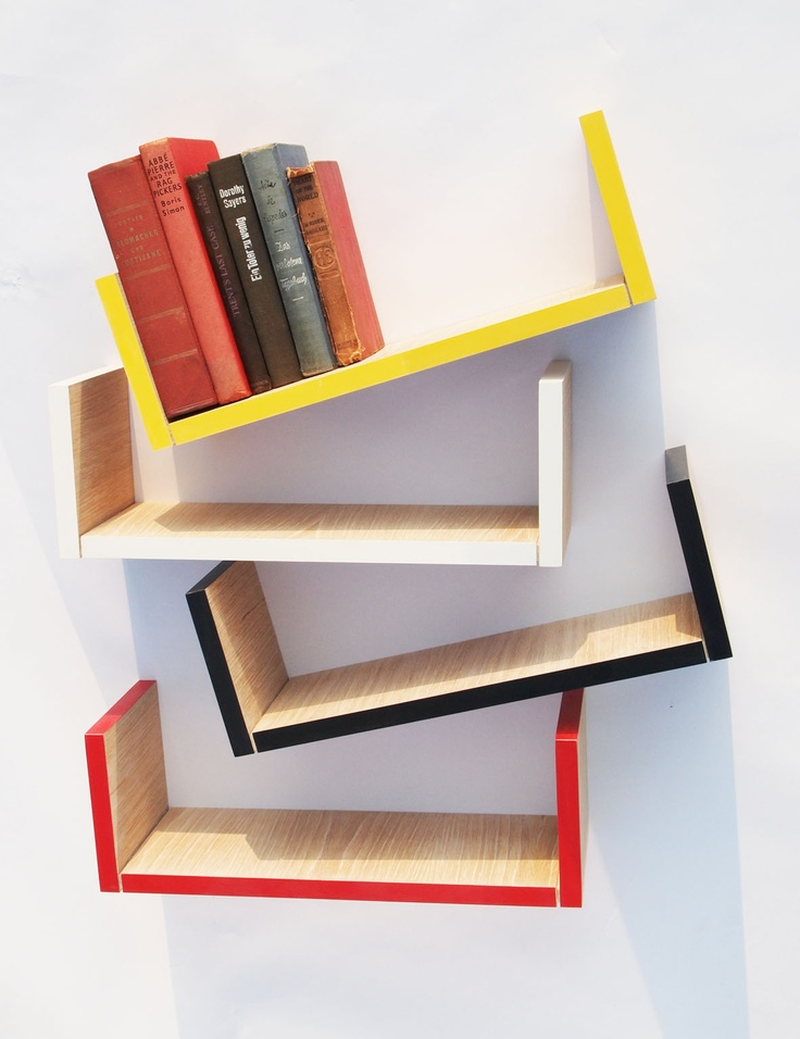 1000 Images About Hanging Bookshelves On Pinterest