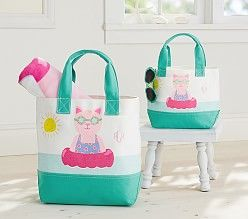 Baby Beach Essentials | Pottery Barn Kids. Another adorable beach tote