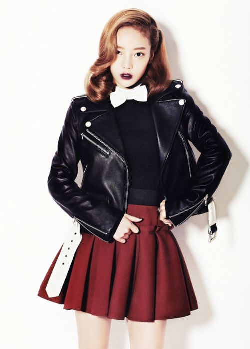 [MAGAZINE] KARA Goo Hara – Vogue Girl Magazine November Issue '13